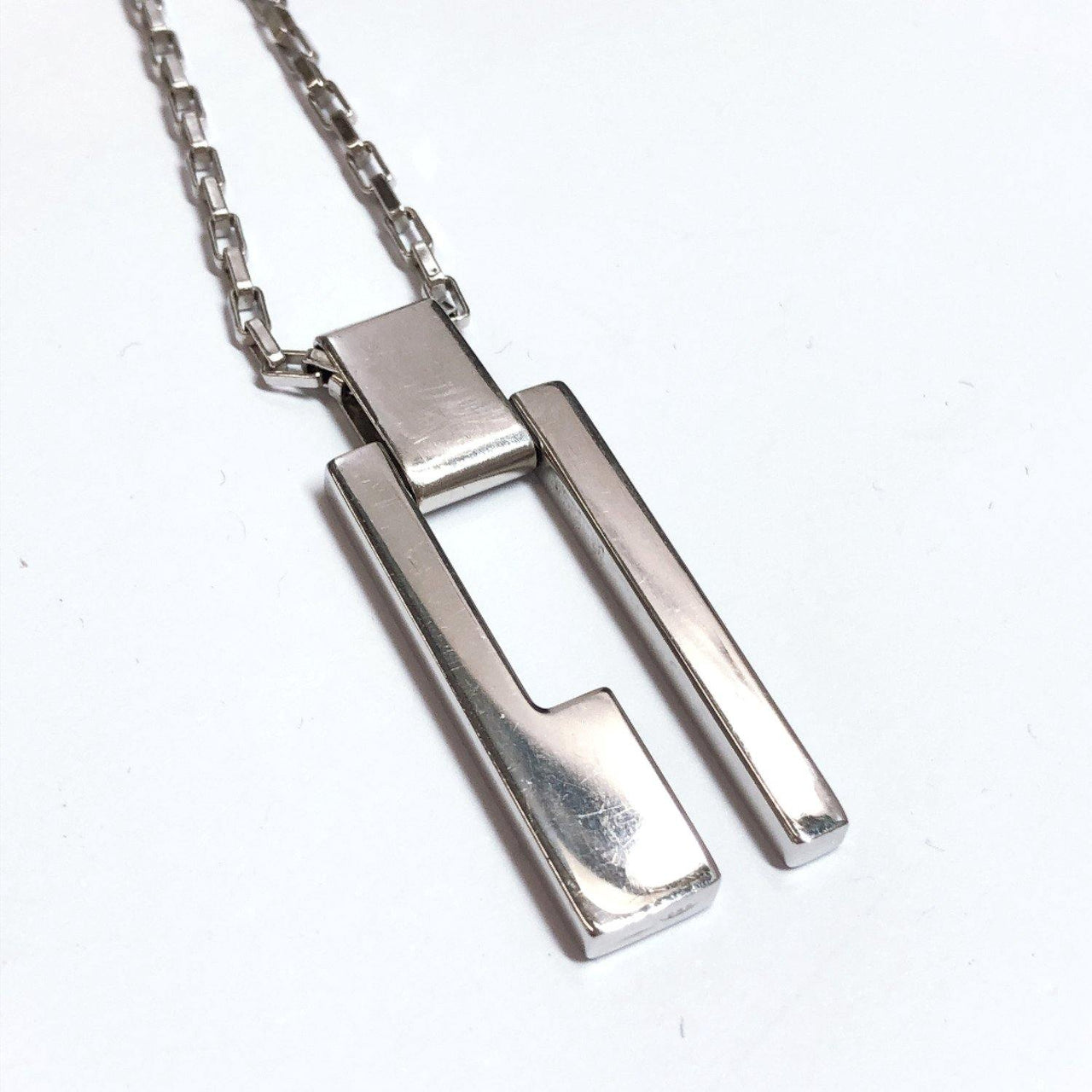 GUCCI Necklace Silver925 Silver unisex Used