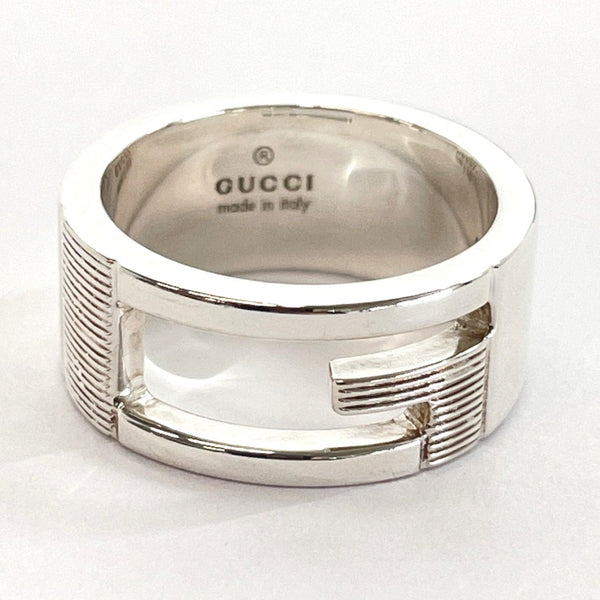 GUCCI Ring Branded Regular G Silver925 9 Silver Women Used