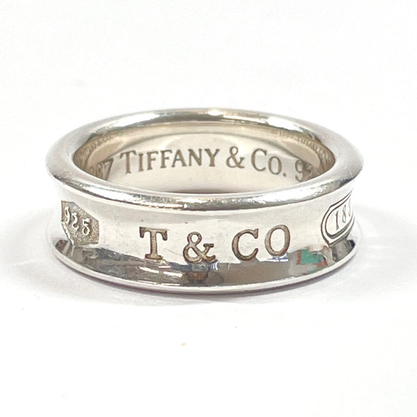 TIFFANY&Co. Ring 1837 Silver925 18 Silver Women Used