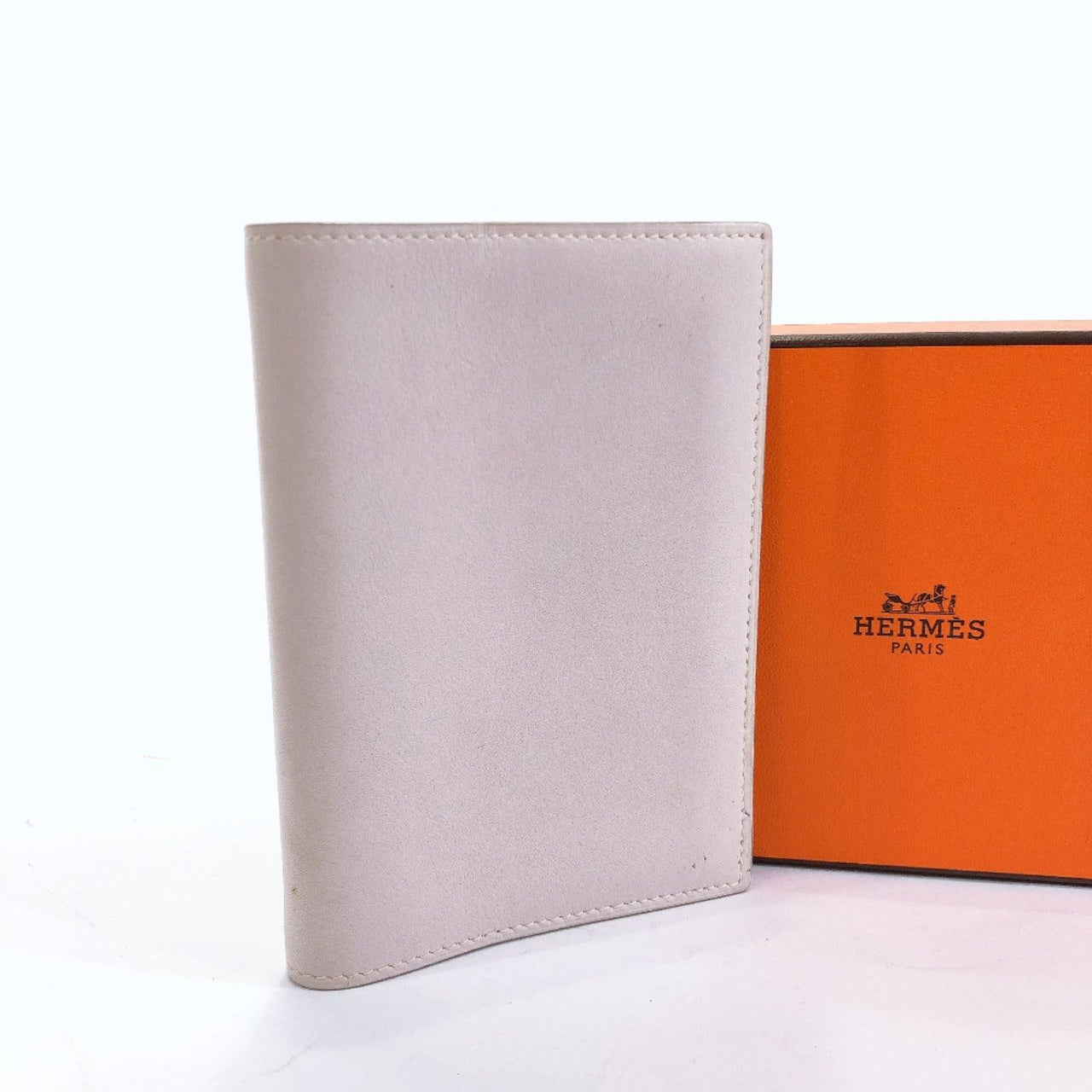 HERMES Notebook cover □K Agenda GM Ginkgo cover Swift pink unisex Used