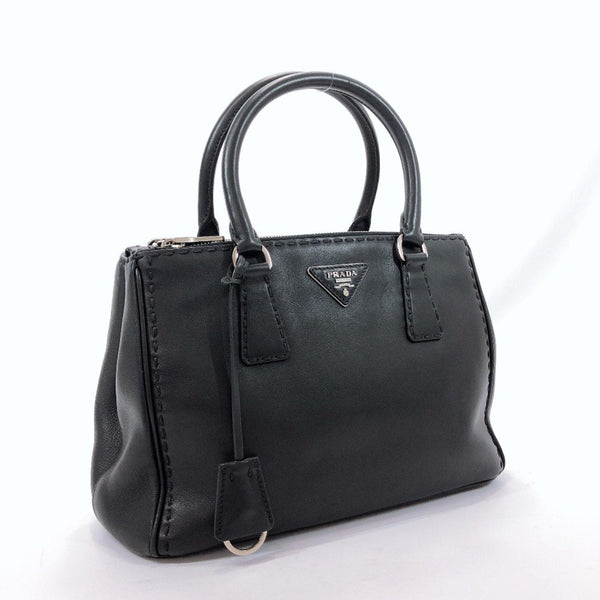PRADA Handbag BN2863 Calfskin black Women Used