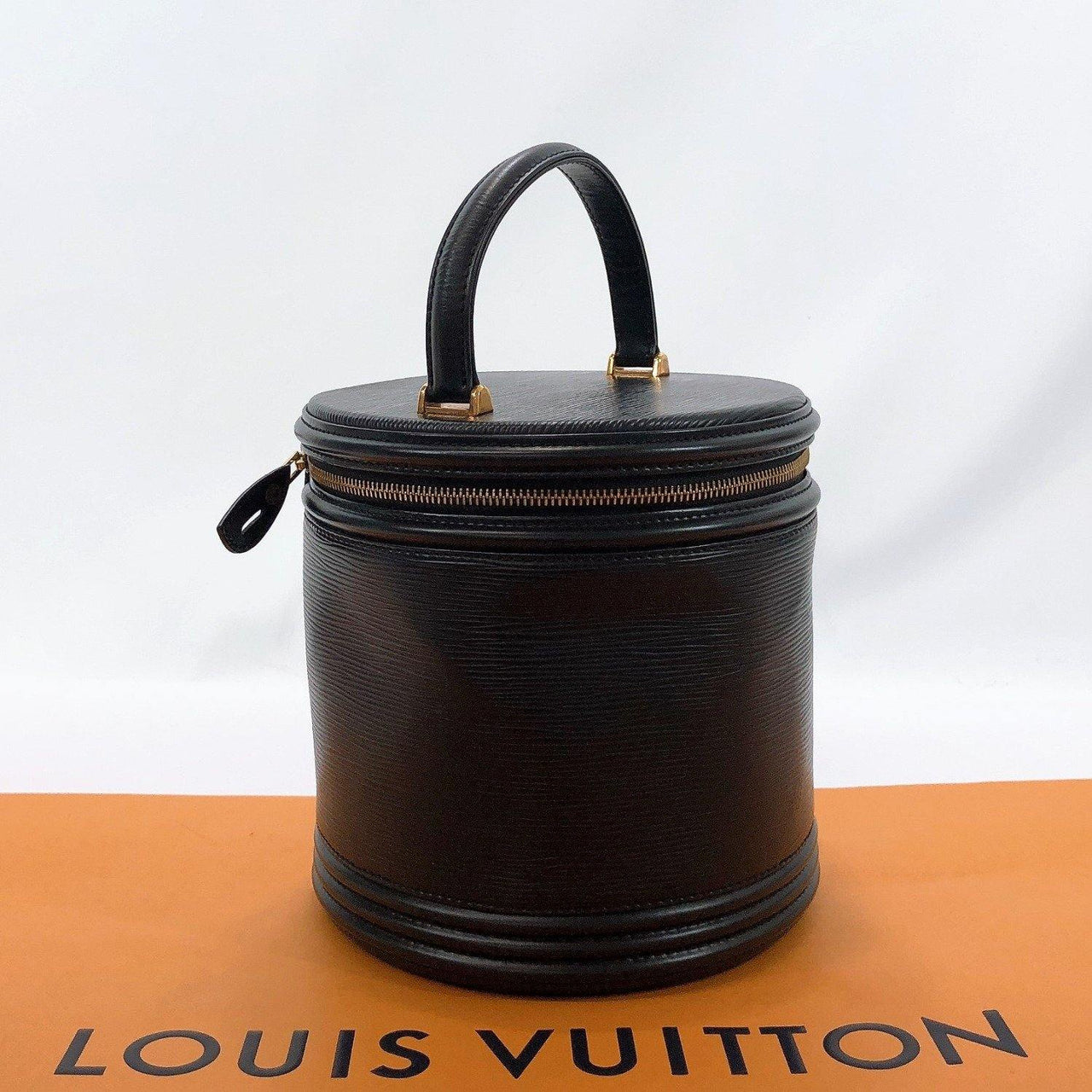 LOUIS VUITTON Handbag M48032 Cannes Vanity bag Epi Leather Black (Noir) Women Used - JP-BRANDS.com