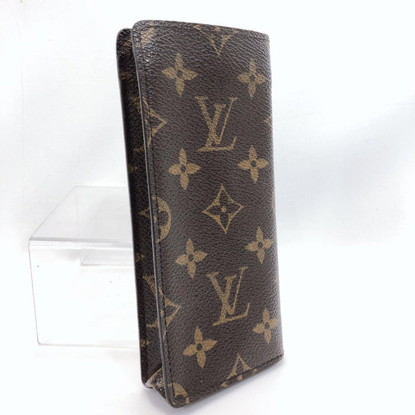 LOUIS VUITTON Other fashion goods M62962 glasses case Monogram canvas Brown unisex Used