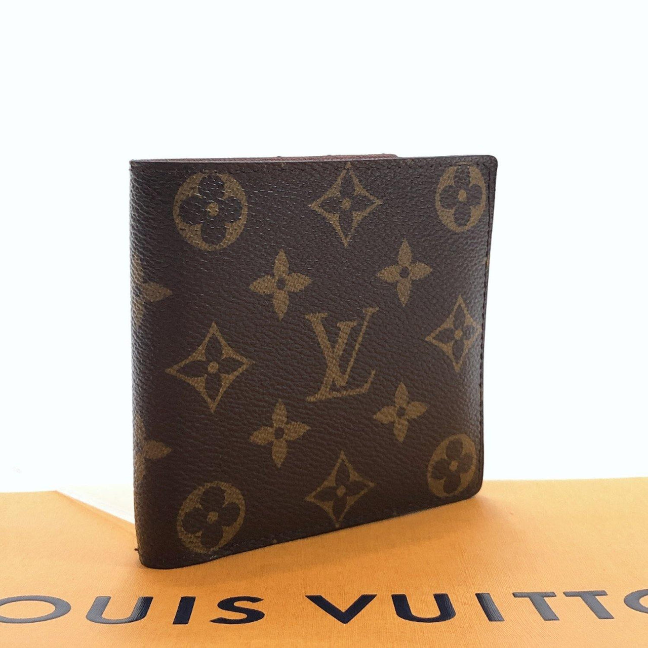 LOUIS VUITTON wallet Portefeiulle Marco Monogram canvas Brown unisex Used
