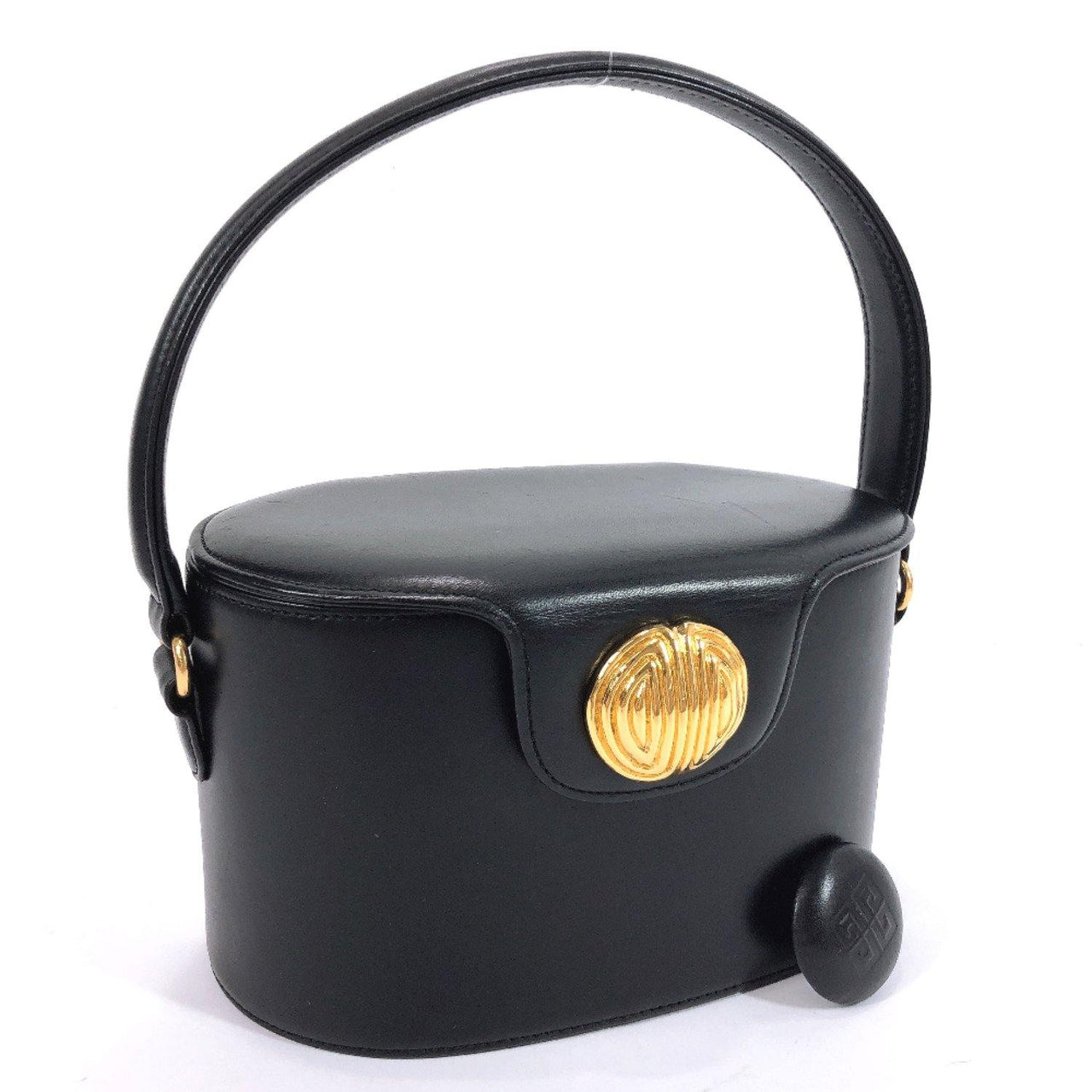 GIVENCHY Handbag Vanity bag leather black Women Used - JP-BRANDS.com