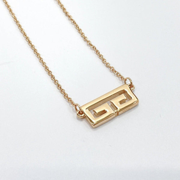 Givenchy Necklace G logo metal gold Women Used