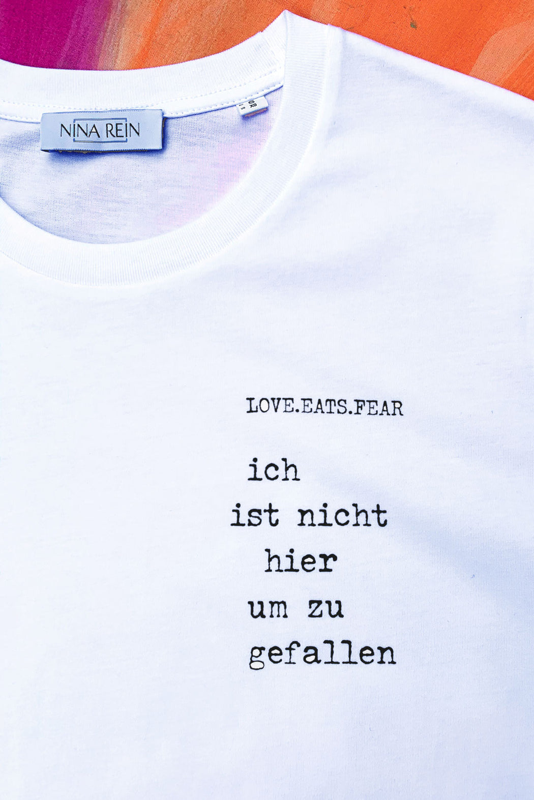 T-Shirt Loveletters (oversized)
