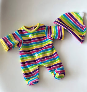 Mameluco Arcoiris Mini (Casual)