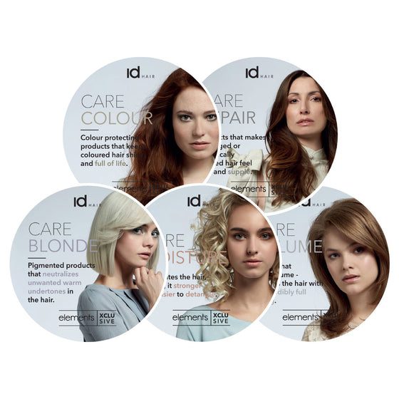 IdHAIR Elements Xclusive Hyllypuhujasetti
