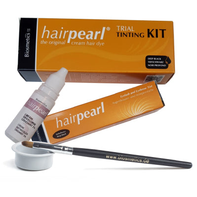 HAIRPEARL - Trial Kit - Deep Black