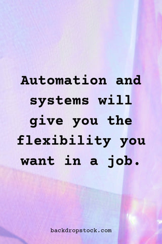 Automation and Systems for small businesses