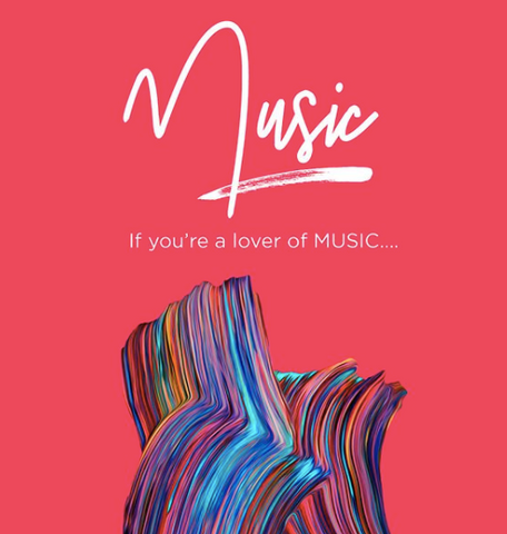 If you're a lover of music graphic design