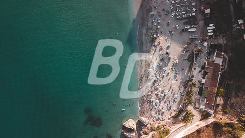Nerja Spain stock photo - backdropstock.com