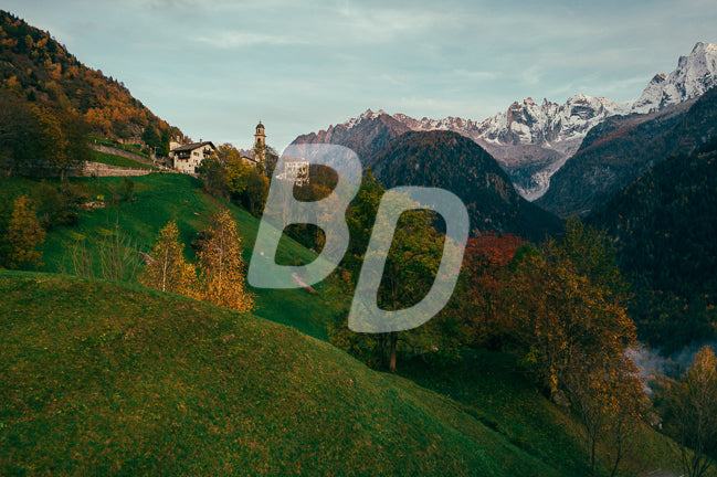 Soglio Switzerland stock photo - backdropstock.com