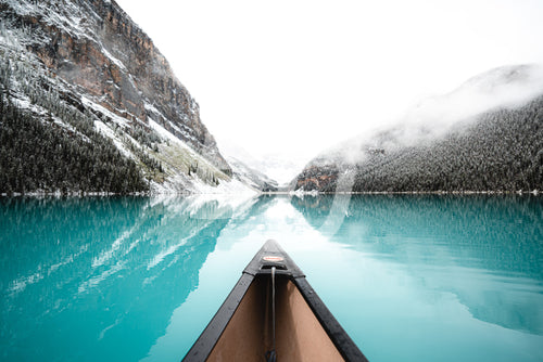 Lake Louise, Alberta, Canada Stock Photo - backdropstock.com