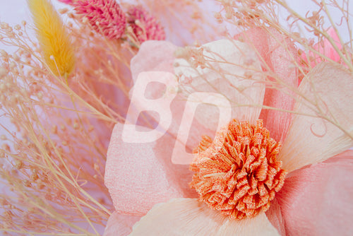 Paper Floral Stock Photo