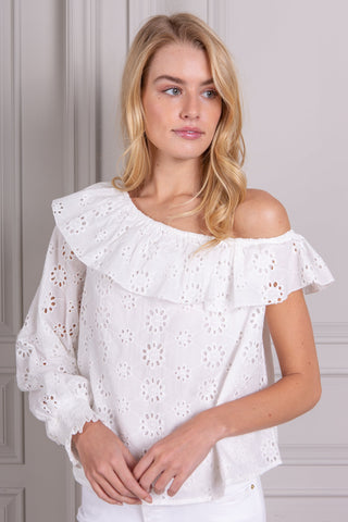 Clémence One Shoulder Top