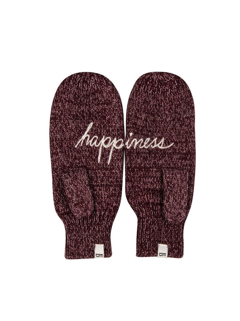 Happiness Knit Mittens