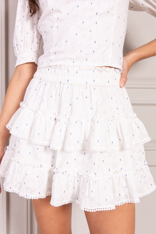 Valerie Tiered Mini Skirt