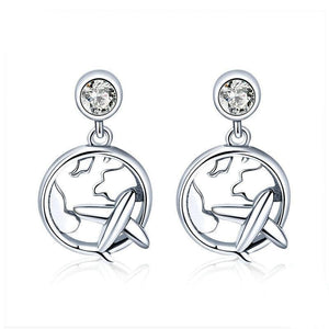 Sterling Silver Traveling Dream Earrings