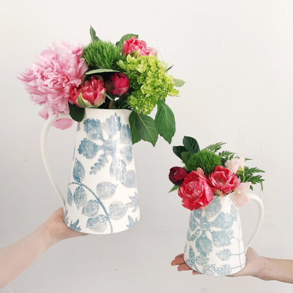 Bali Toile Pitchers