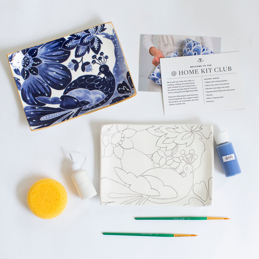 Workshop Kit — Le Bird Sake Tray