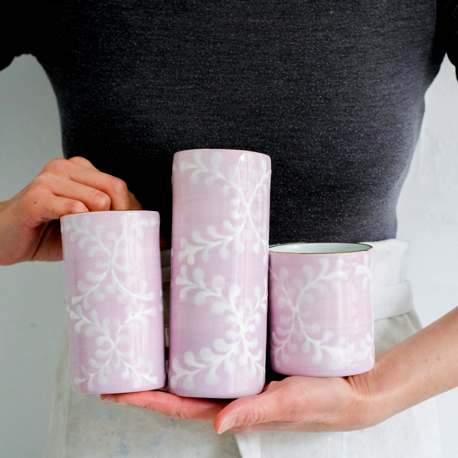 Angel Dust Cylinder Vases