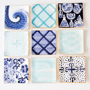 Blue App Trays