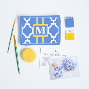 Workshop Kit — Monogram Sake Tray