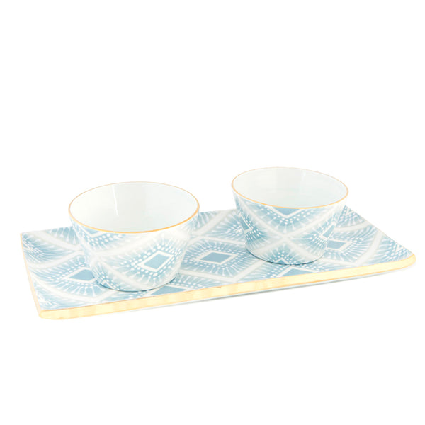 Neil Diamond Cocktail Tray & Dip Bowls (sold separately)