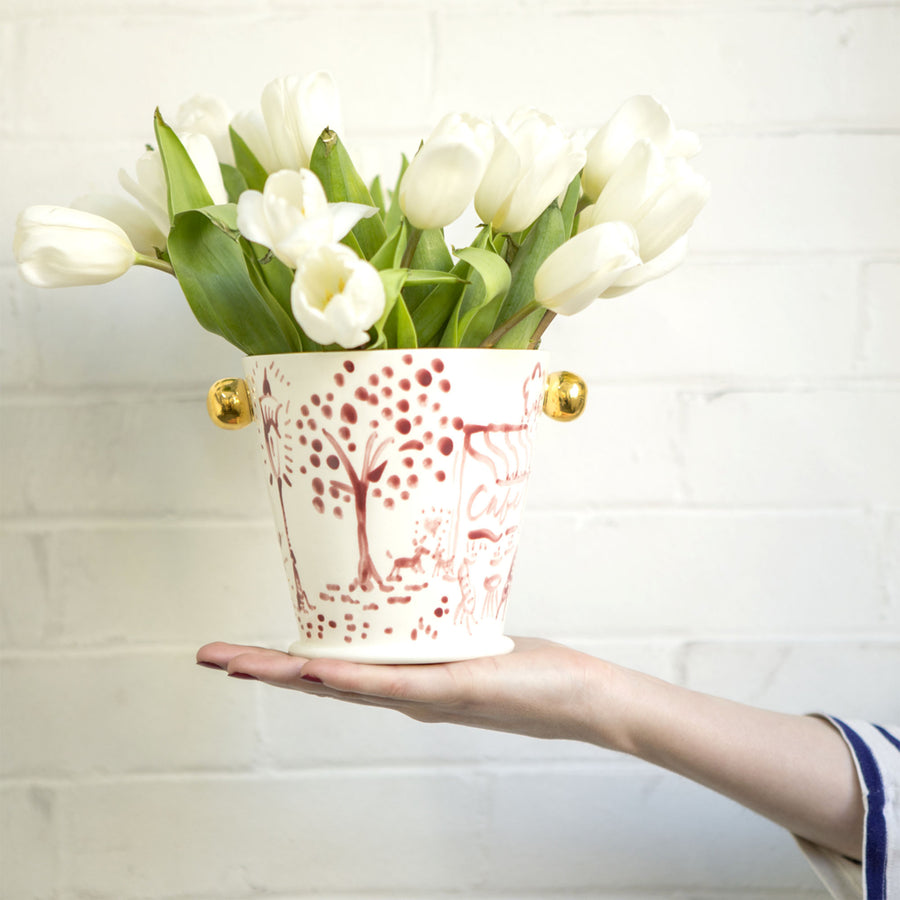 Limited Edition: Springtime in Paris Herb Pot