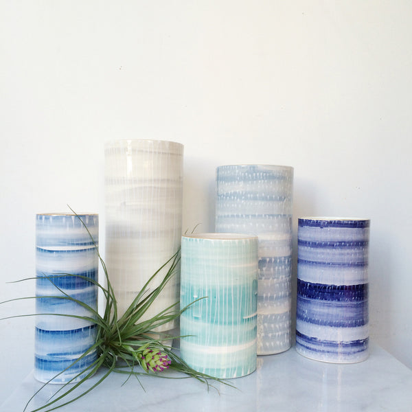 Linus Cylinder Vase Collection