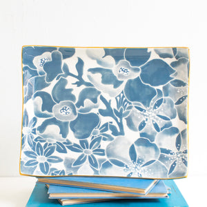 Letter Tray in Bonaparte Blue