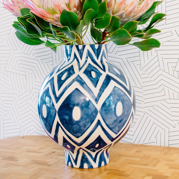 Pencil & Paper Co. X-Large Zag Vase
