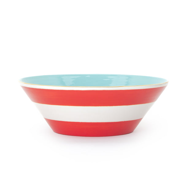Canopy Stripe Heirloom Bowl