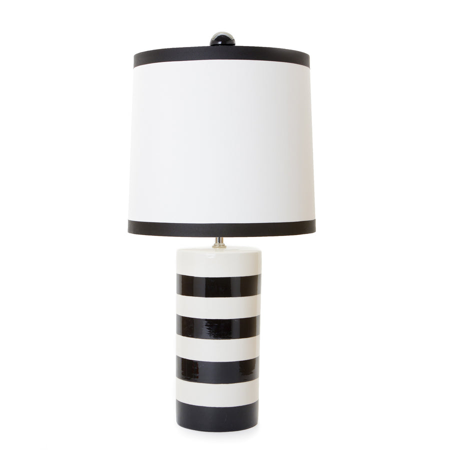Canopy Stripe Cylinder Lamp