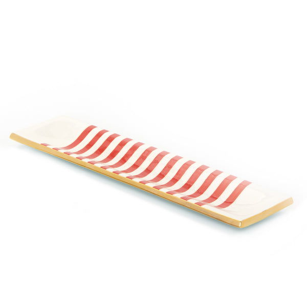 Capri Stripe Ritz Tray