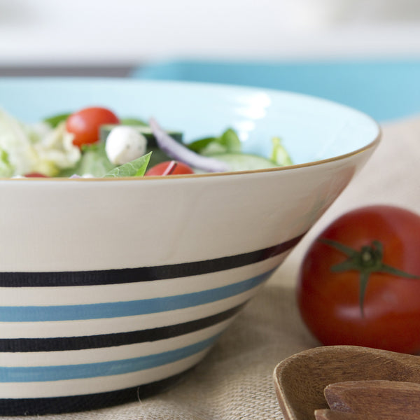 Capri Stripe Heirloom Bowl
