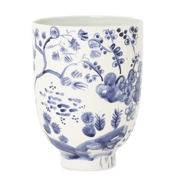 Erin Gates Delft Tall Bowl