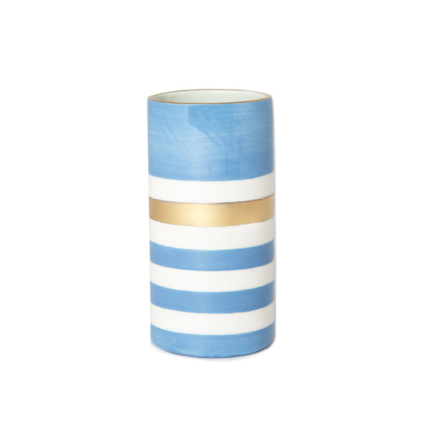 Jill Goldberg Skinny Vase True Blue