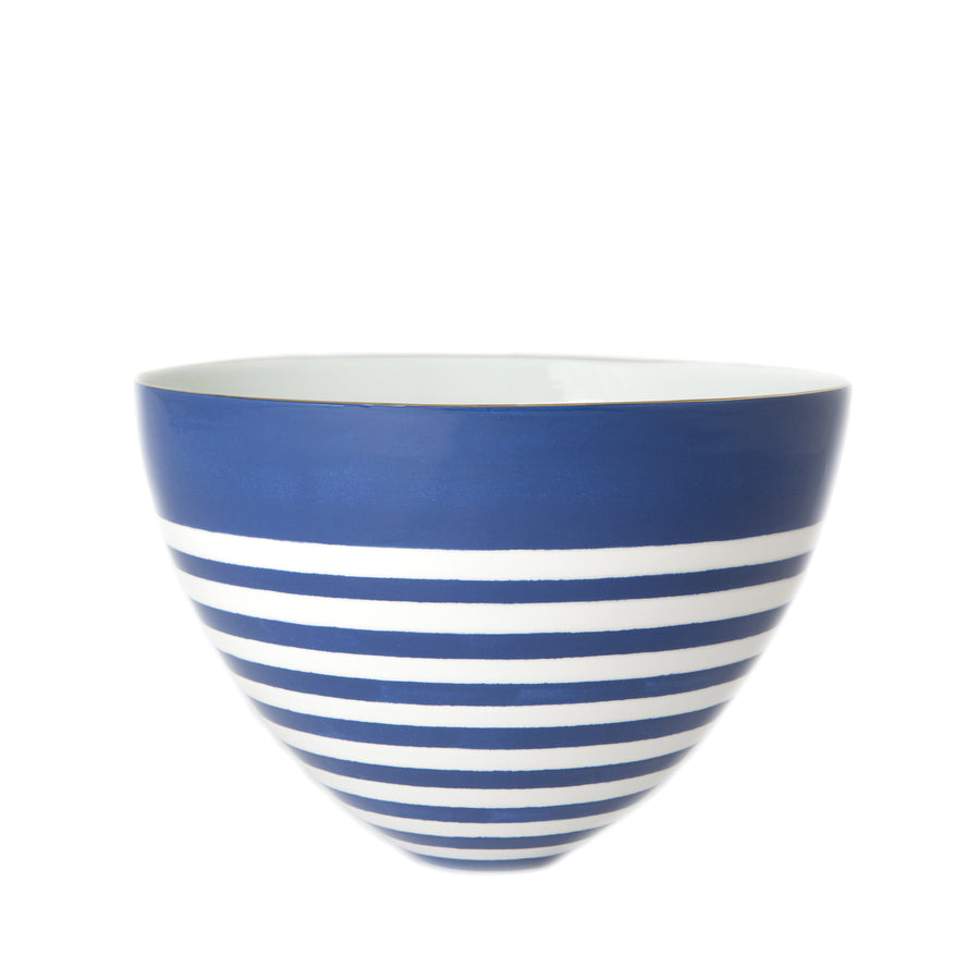 Reverse Capri Stripe Bee Bowl