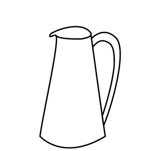 Custom: Large Pitcher