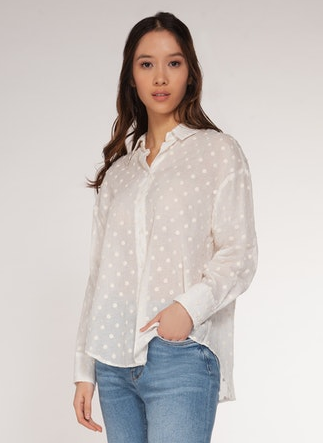 Connect the Dots Top - Off White