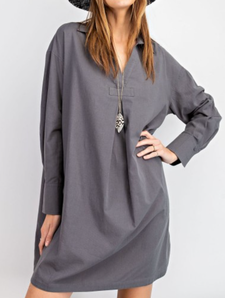 Smokey Eye Tunic - Smoke