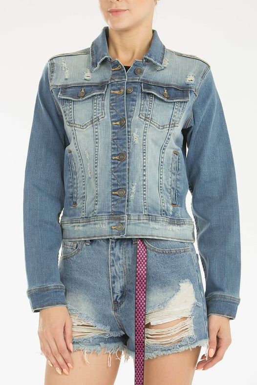 Ride On Jean Jacket