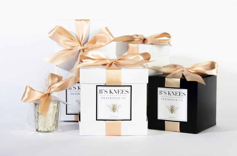 Veneto Black Box Candle