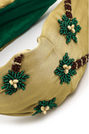 Palm Tree Embroidered Headband