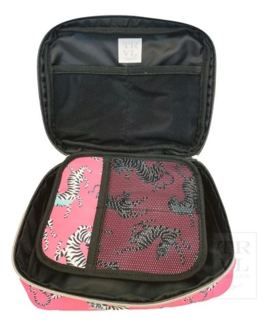The Brush Up Pouch - Bengal Pink