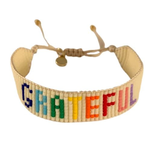Friendship Bracelet - Grateful