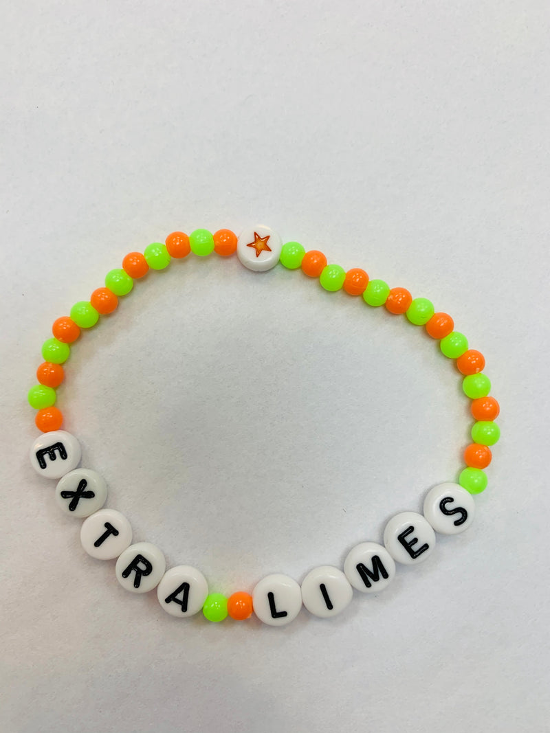 HB Beaded Bracelet - Extra Limes - Medium